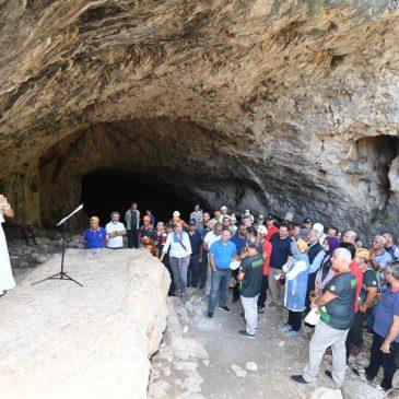 Kocain Mağarasına Antalya Valisi ve Protokol Ziyareti